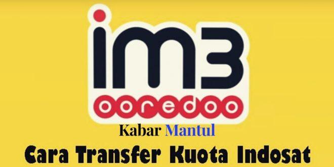 [INFO] Jangan Bingung Transfer Kuota Indosat, Ini Caranya